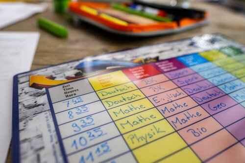 routine per i compiti a casa