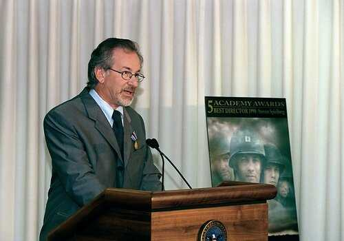 Steven Spielberg dislessico famoso